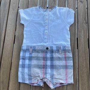 Rompers pyjamas Babygrow 3 / 6 months Burberry